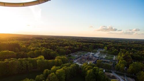 Δωρεάν στοκ φωτογραφιών με apeldoorn, drone, paleis het loo, ήλιος