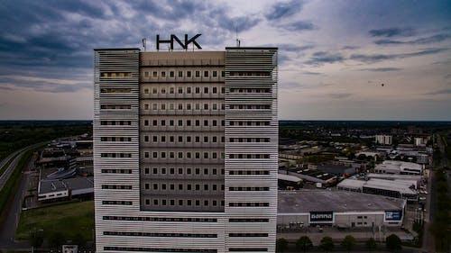hnk, 建造, 氣球, 辦公大樓 的 免費圖庫相片