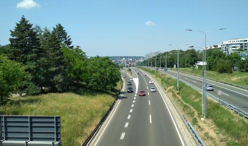 汽車, 自動, 路, 高速公路 的 免费素材照片