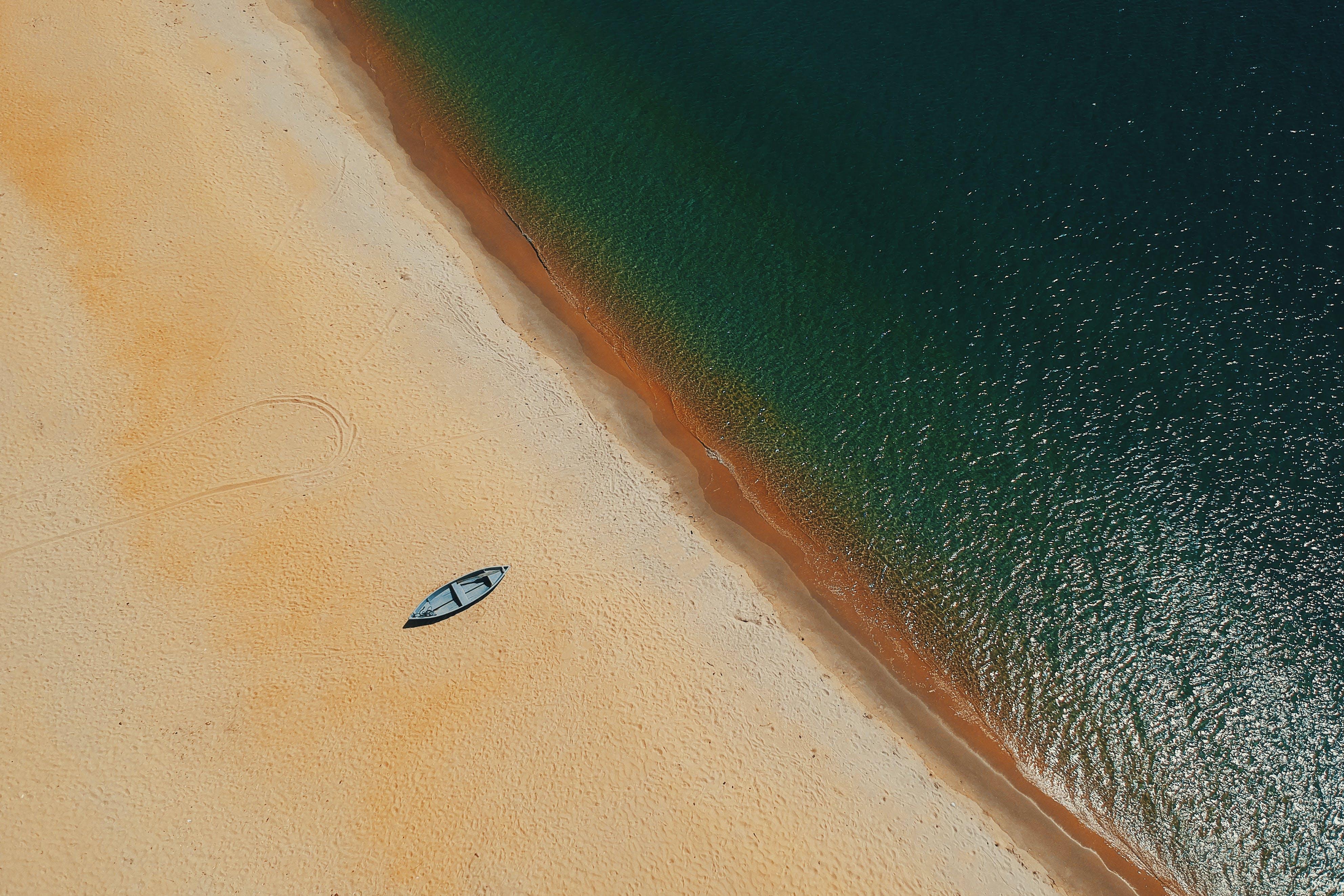 Kayak On Sand