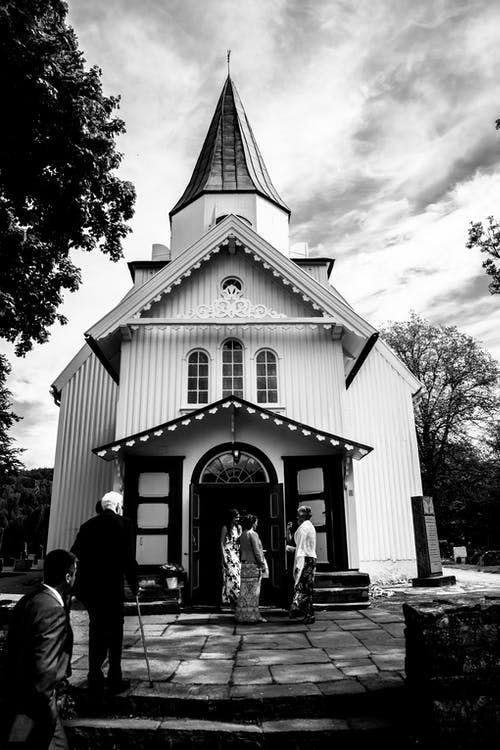 Free stock photo of church, church building, old building, wedding