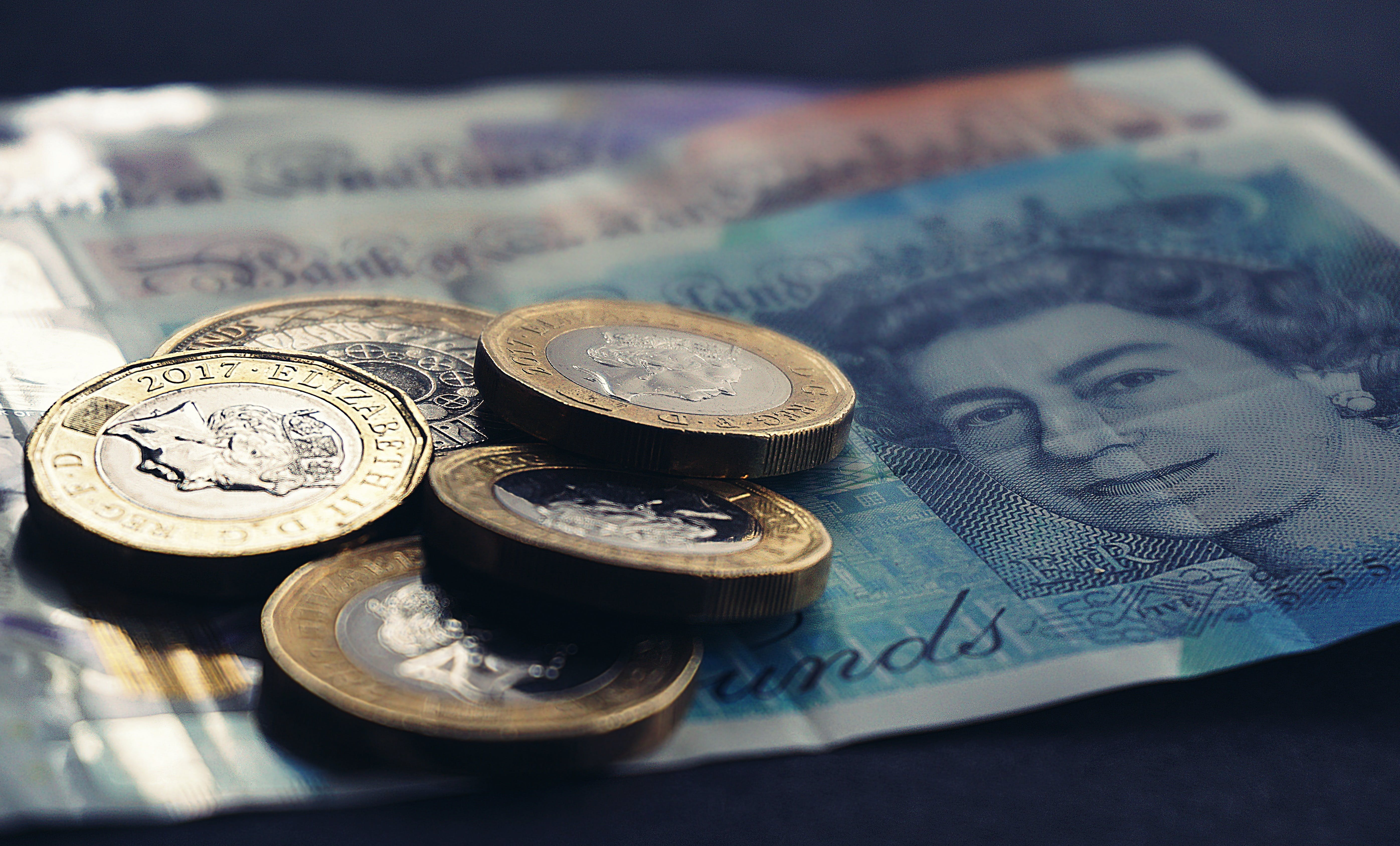 Free stock photo of money, coins, bank notes, cash