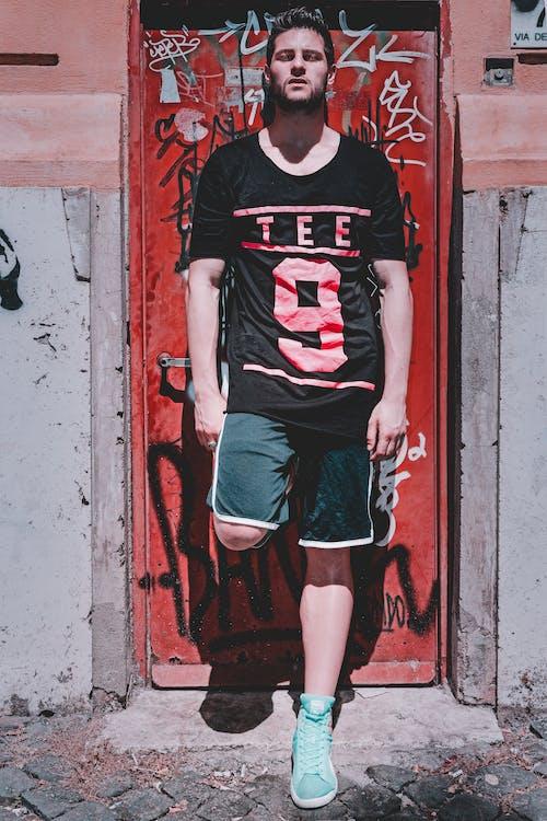 おしゃれ, おとこ, アダルト, ドアの無料の写真素材