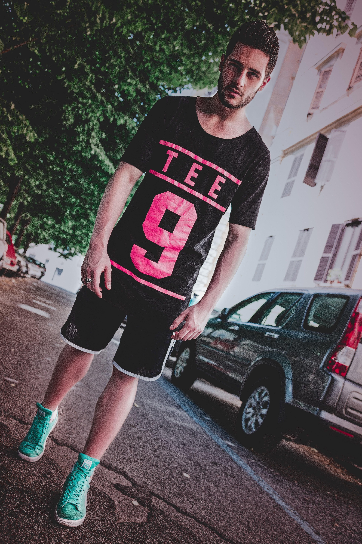 Man In Black Crewneck T-shirt