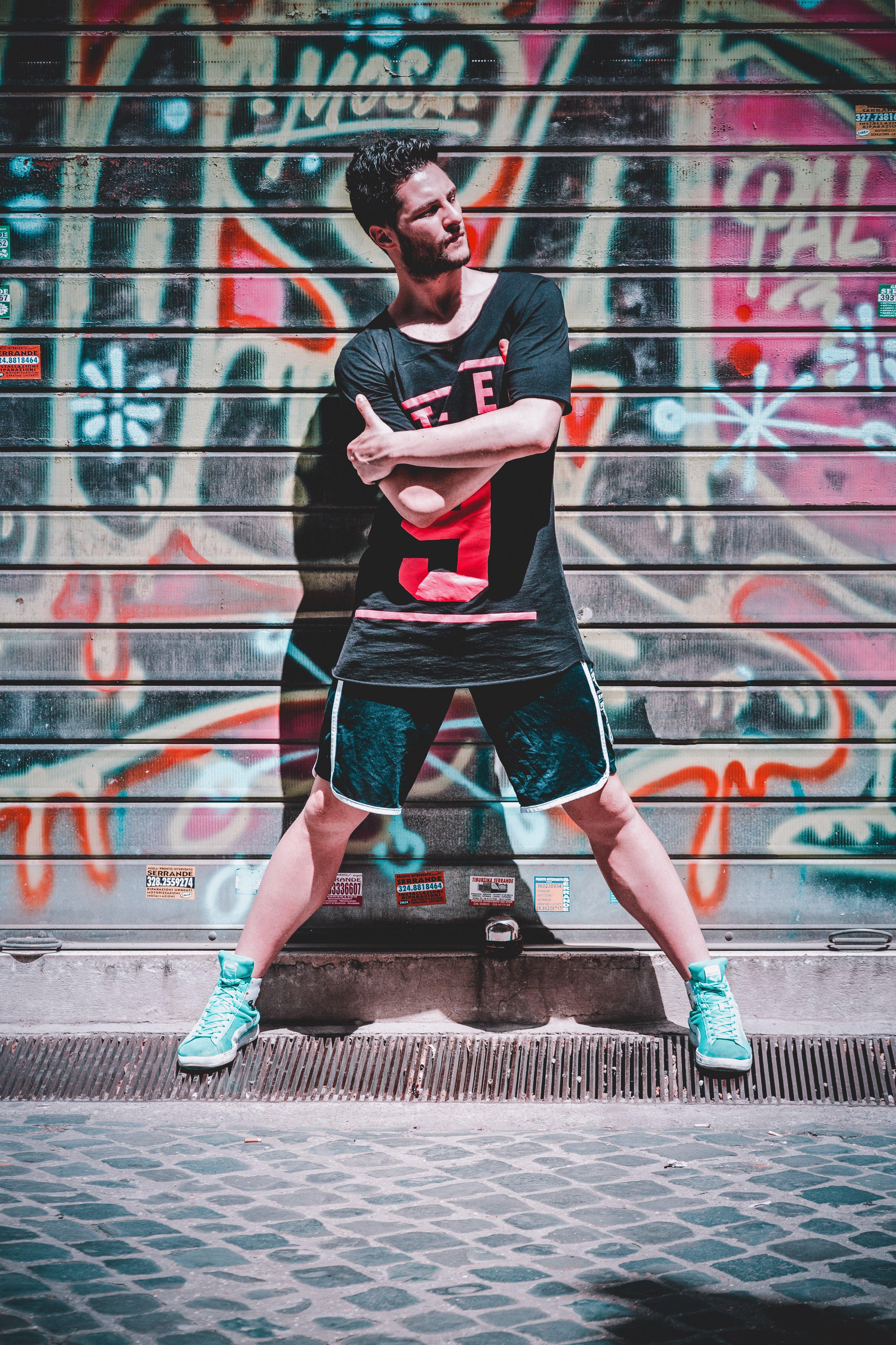 Gratis lagerfoto af flot, gade, gadekunst, graffiti
