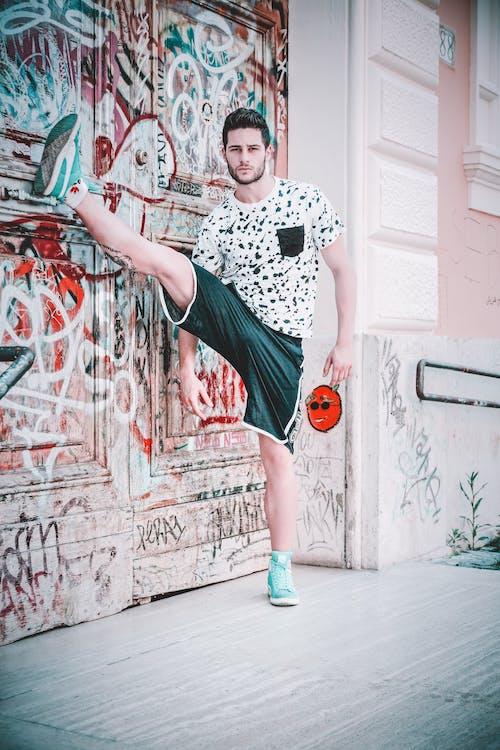 Ingyenes stockfotó álló kép, Atlétika, divat, divatos témában