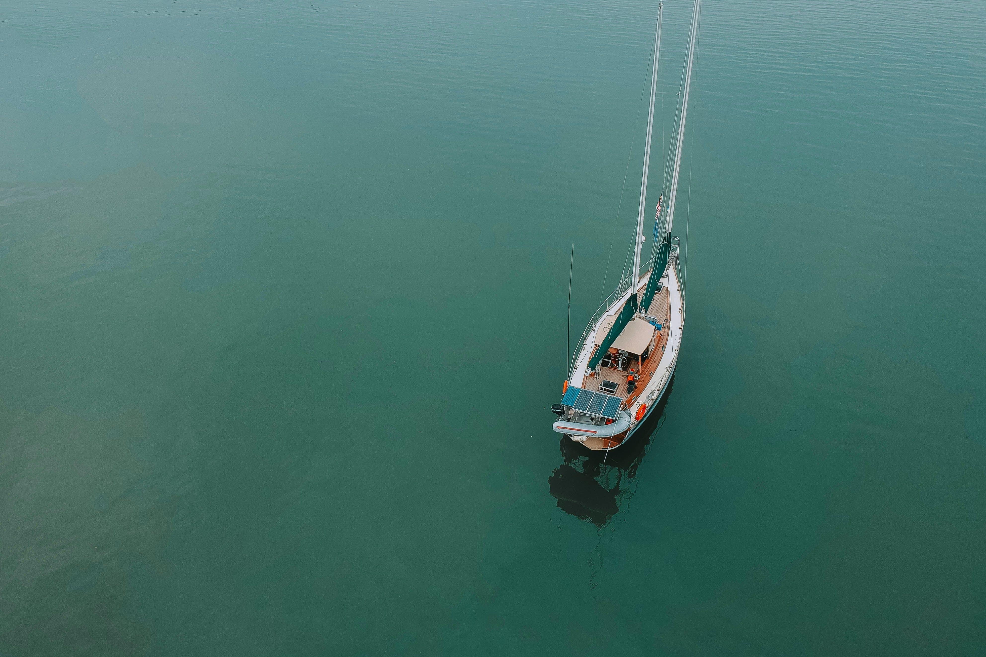 Kostenloses Stock Foto zu boot, meer, ozean, reise