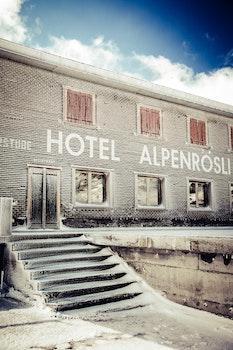 2 Storey Concrete Hotel Alpenrosli