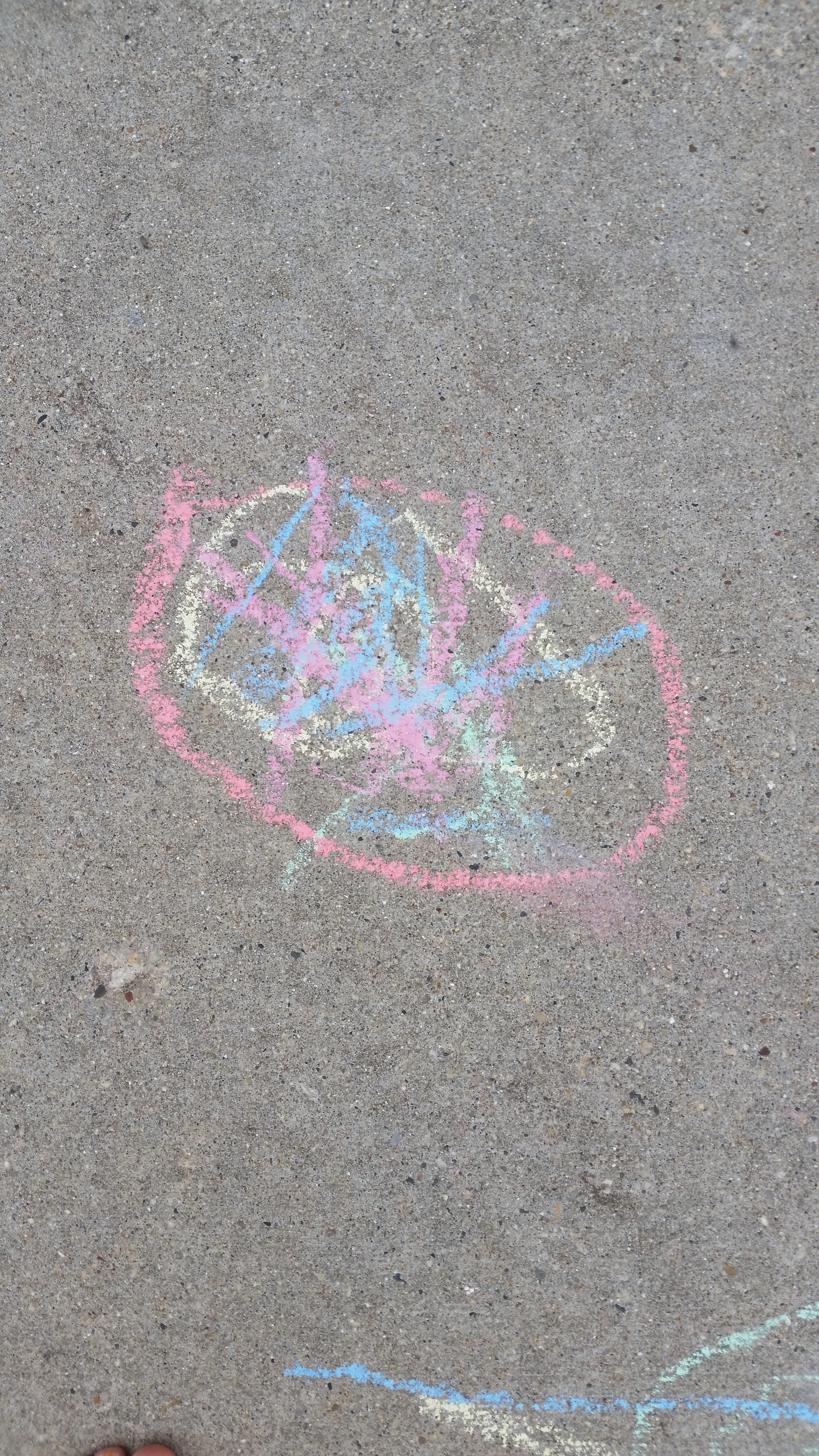 Free stock photo of chalk art, sidewalk chalk