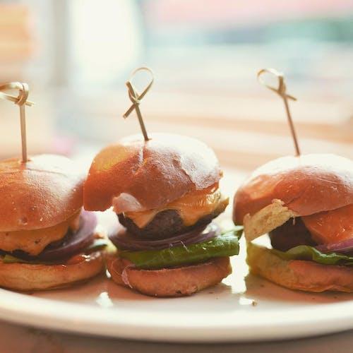 Kostenloses Stock Foto zu essen, hamburger, lebensmittel