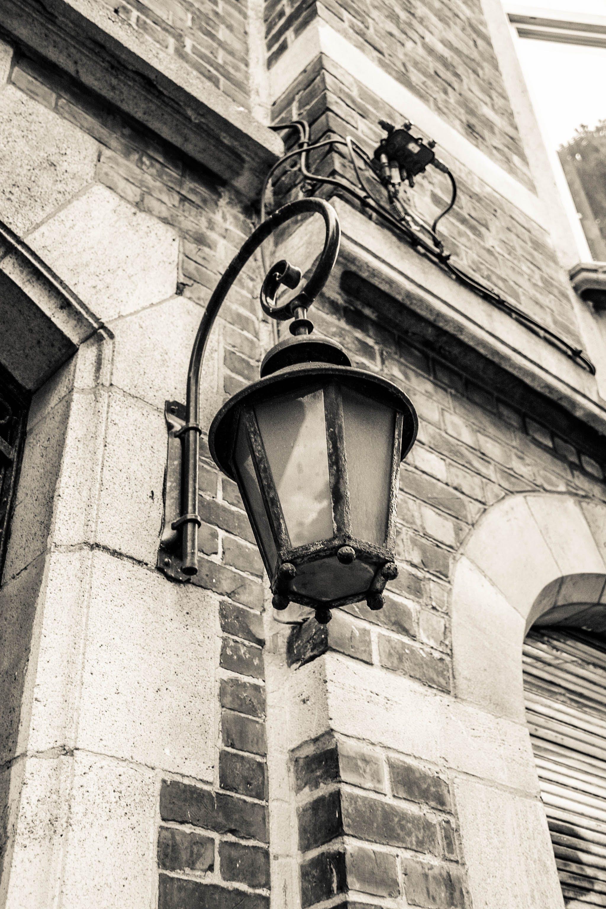 Free stock photo of citylights, lamp, oldfashioned, street