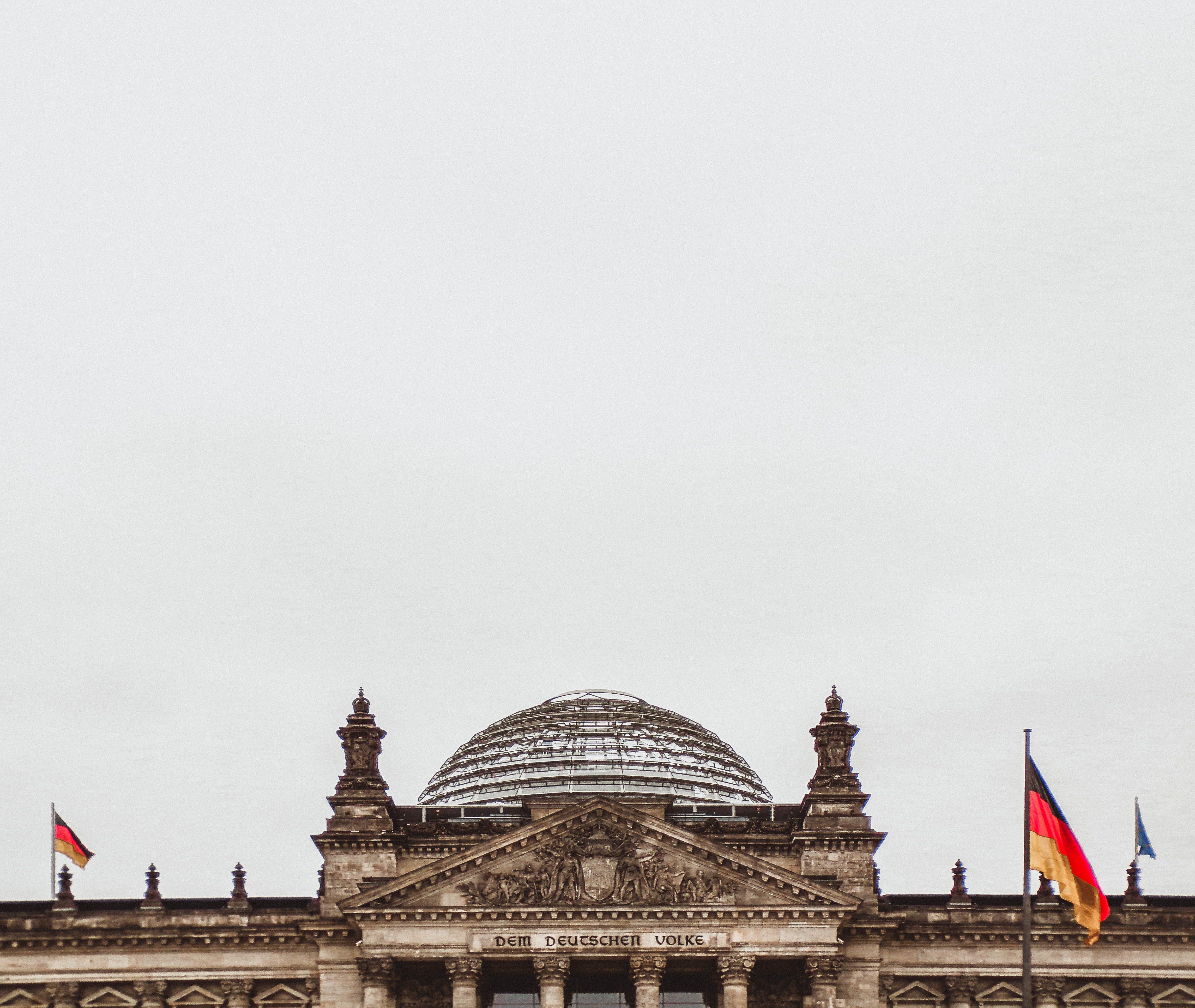 Gratis arkivbilde med administrasjon, arkitektur, berlin, bygning