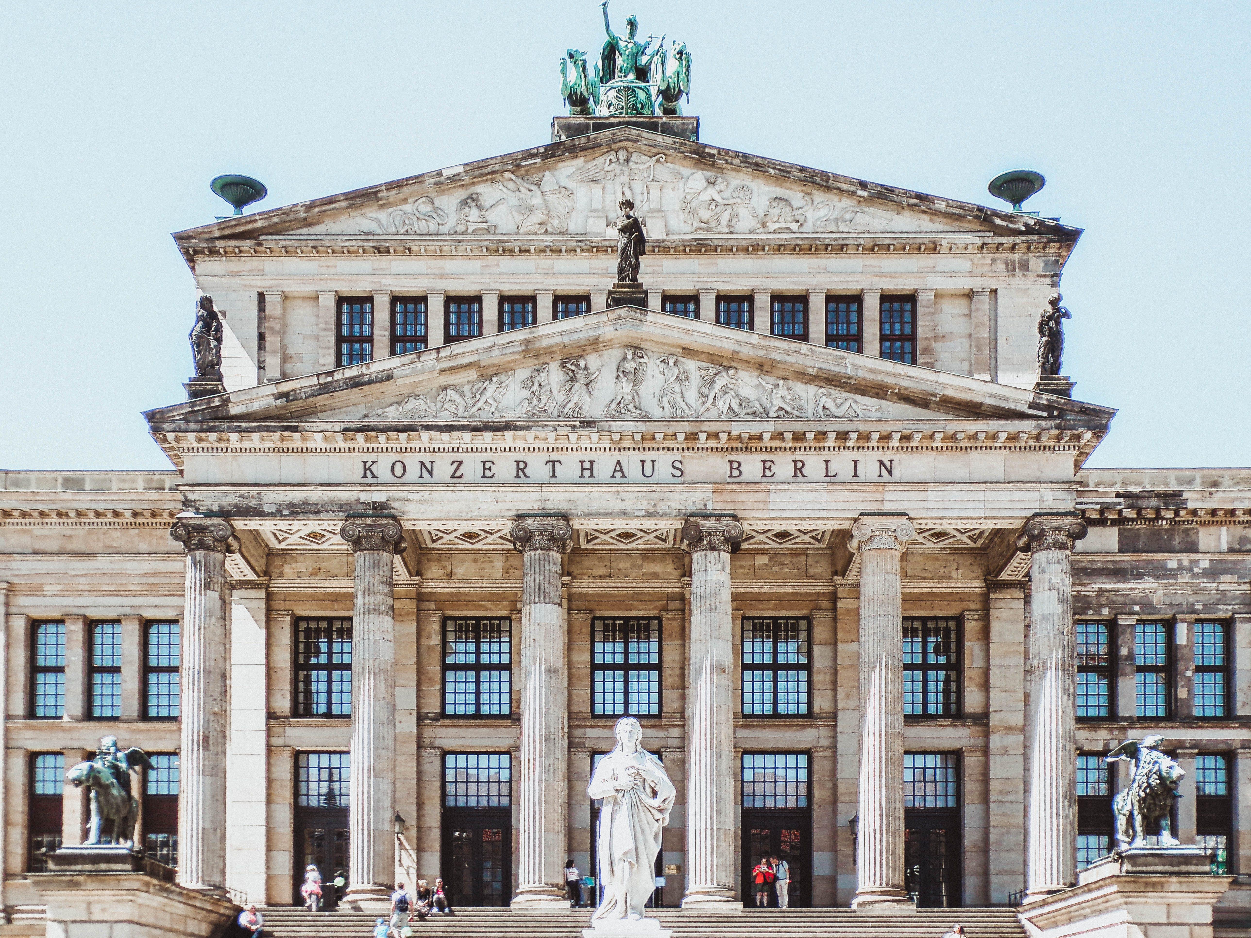 Gratis lagerfoto af arkitektur, berlin, bygning, dagslys