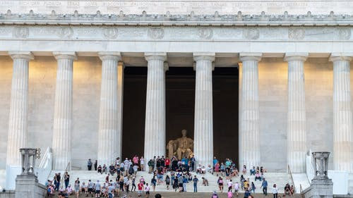 Free stock photo of abraham lincoln, america, lincoln memorial, usa