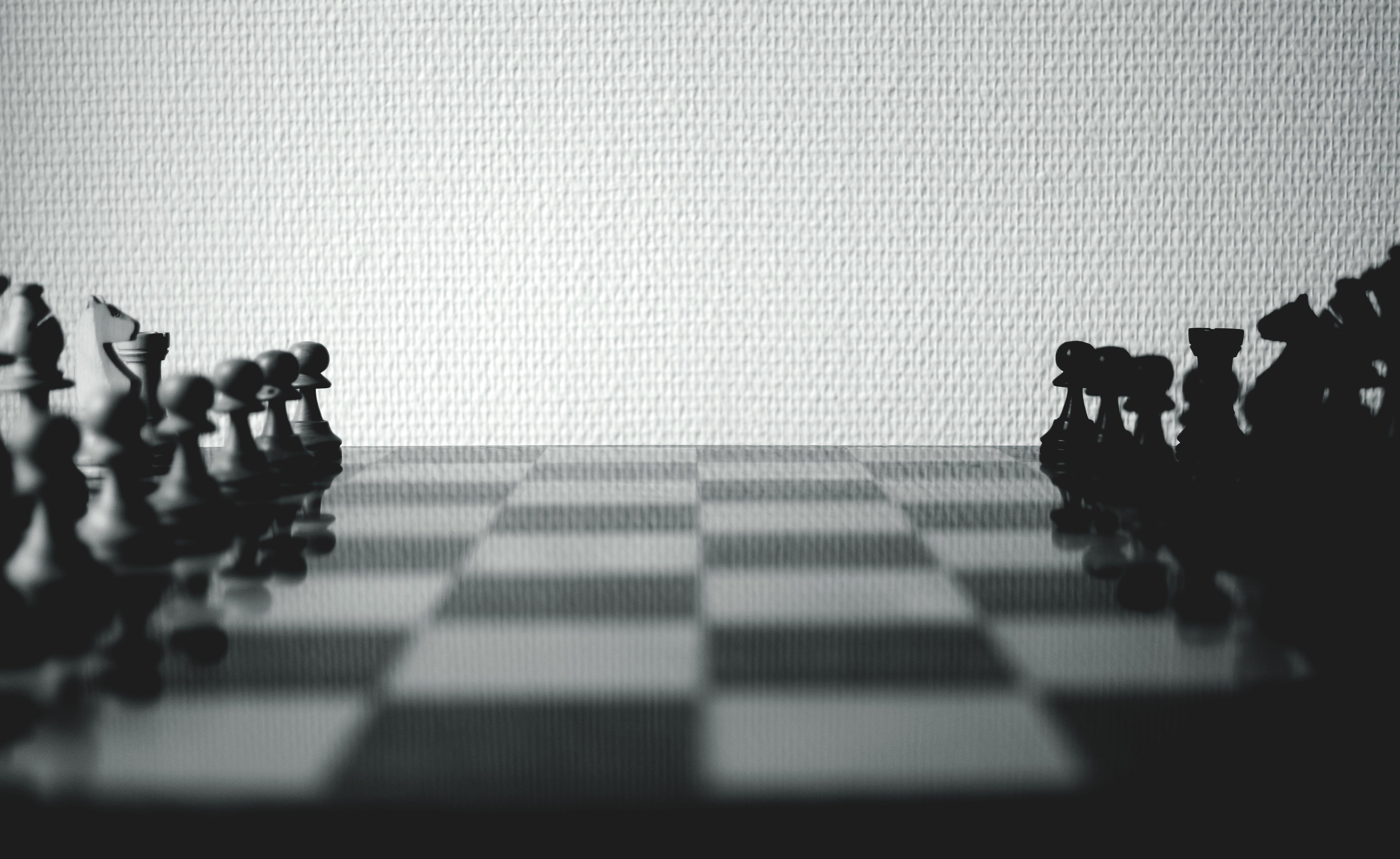 Kostenloses Stock Foto zu brettspiel, figuren, schach, schachbrett