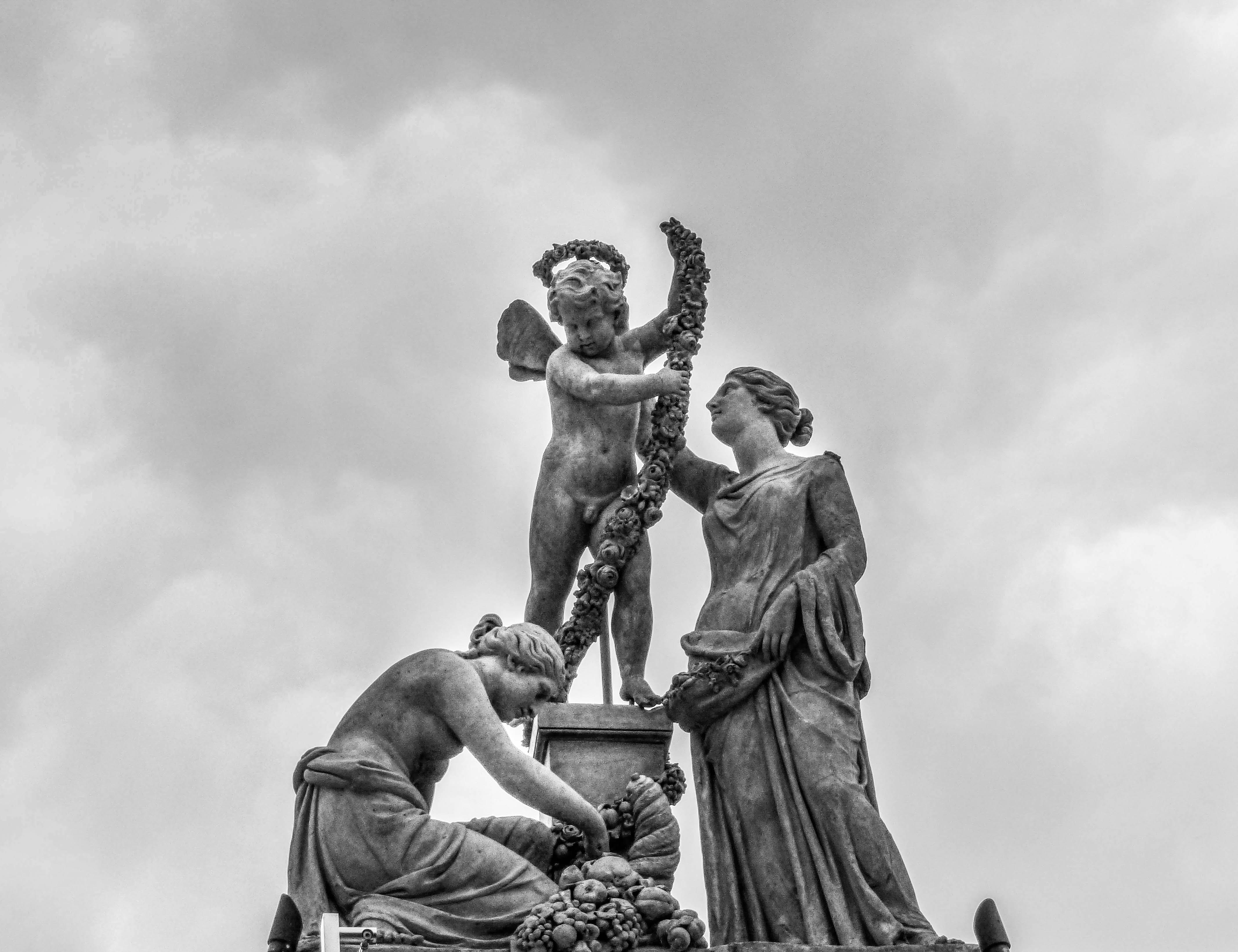 Cherub Statuette