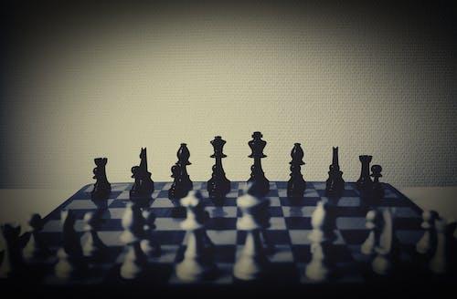 Foto d'estoc gratuïta de escacs, joc, Tauler d'escacs