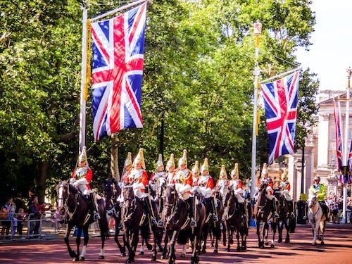 Imagine de stoc gratuită din aglomerație, Anglia, britanic, călăreț