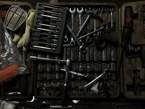 Free stock photo of toolbox