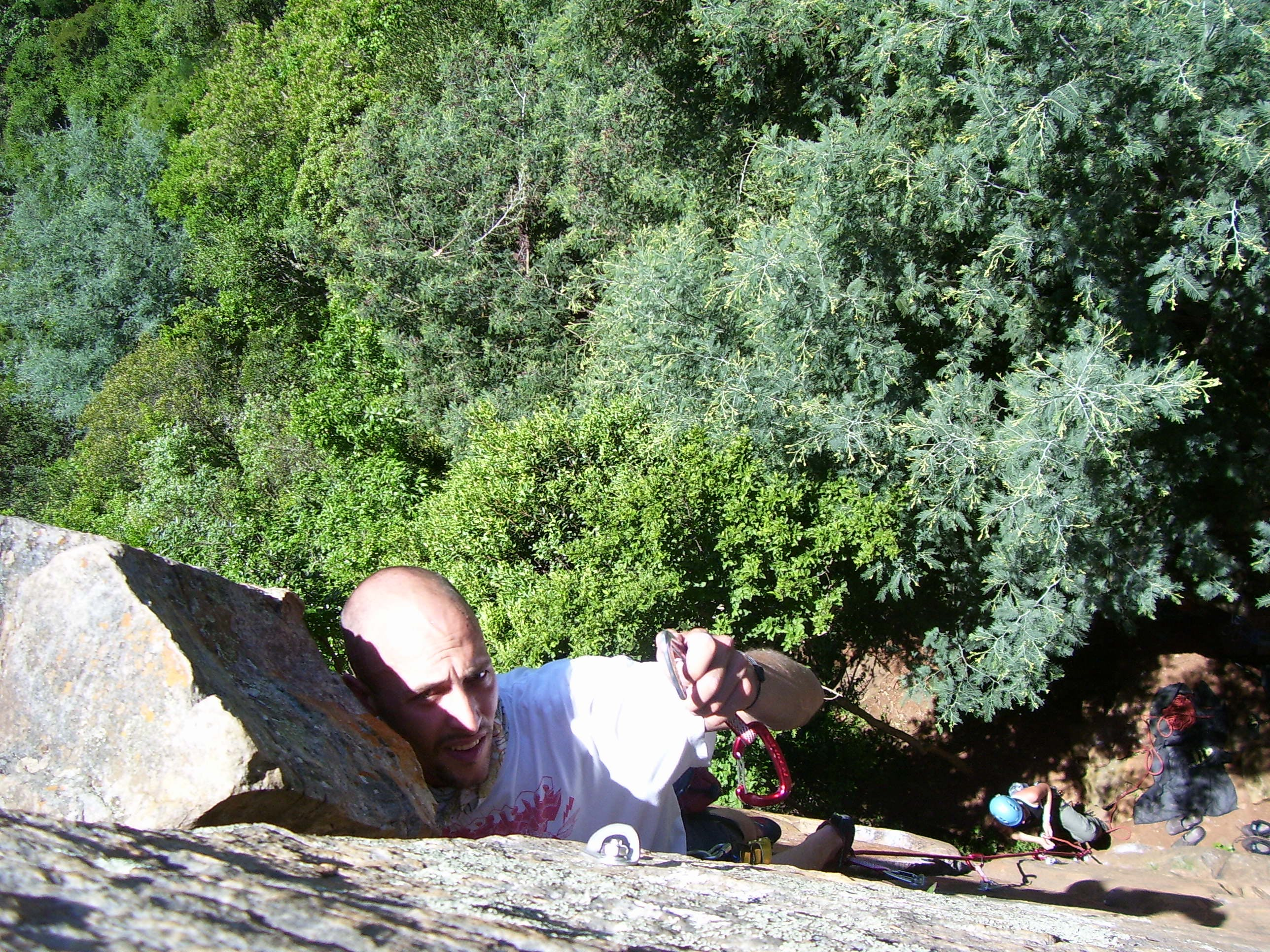 Free stock photo of rock climbing