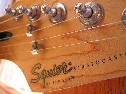 Foto stok gratis gitar, spatbor