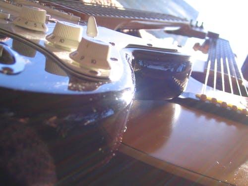 Foto stok gratis gitar