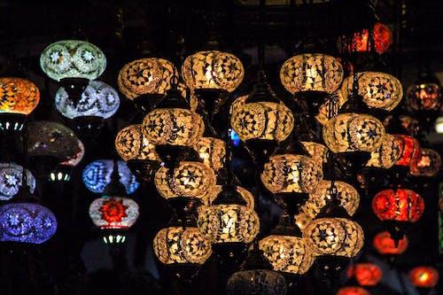 Безкоштовне стокове фото на тему «Бенгальські вогні, жовтий, синій, чорний»