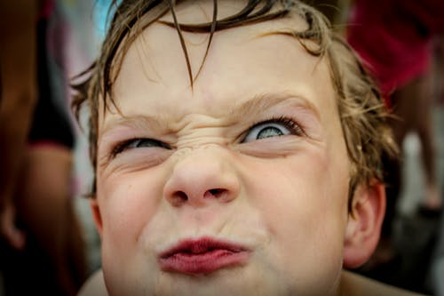 Free stock photo of #child#sillyface#