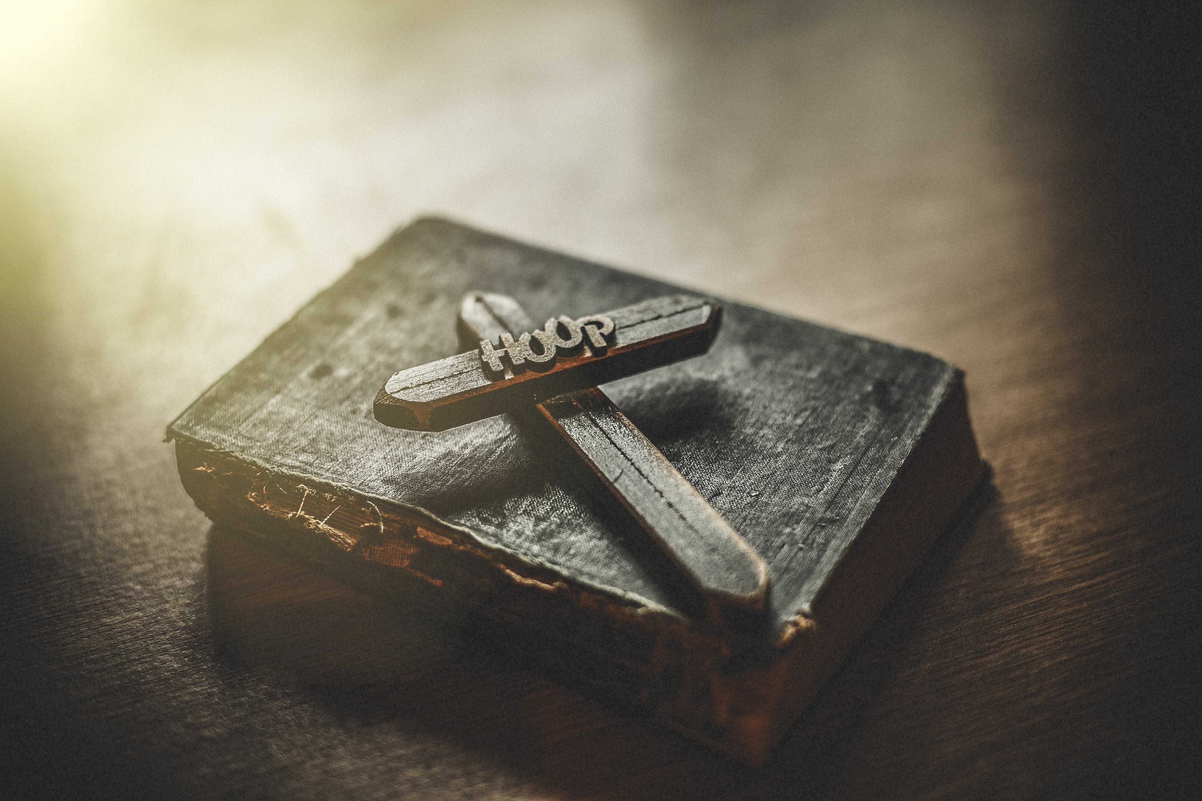 Free stock photo of bible, brownish, hope, old book