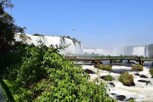 Foto d'estoc gratuïta de cachoeira, foz do iguaã§u