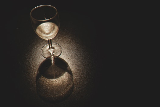 Free stock photo of light, dark, alcohol, glass