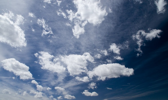 Free stock photo of sky, clouds, cloudy, weather