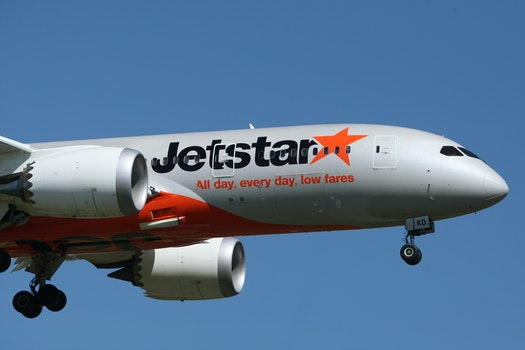 Jetstar All Day, Every Day, Low Fares.