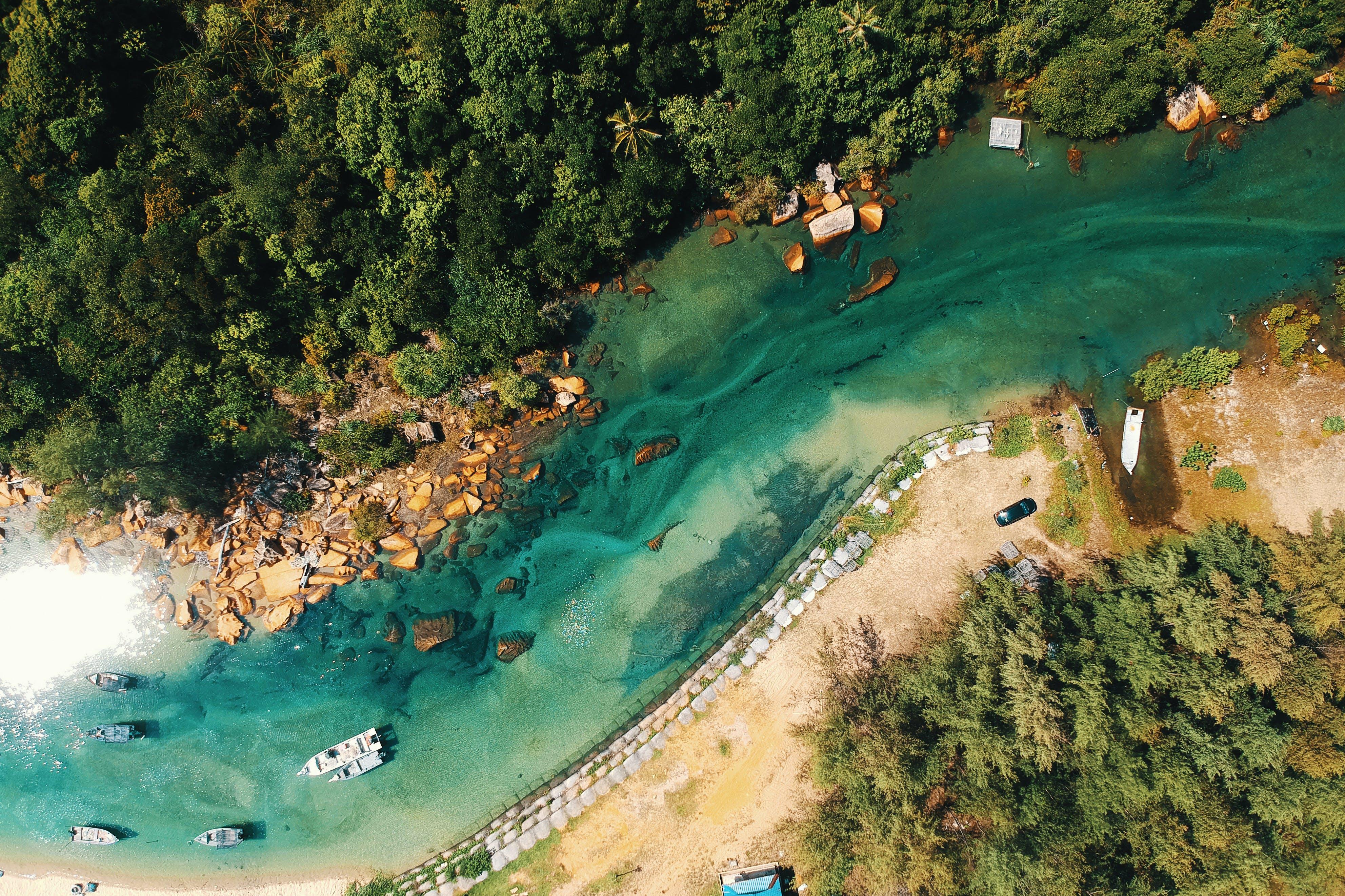 River Aerial Photo