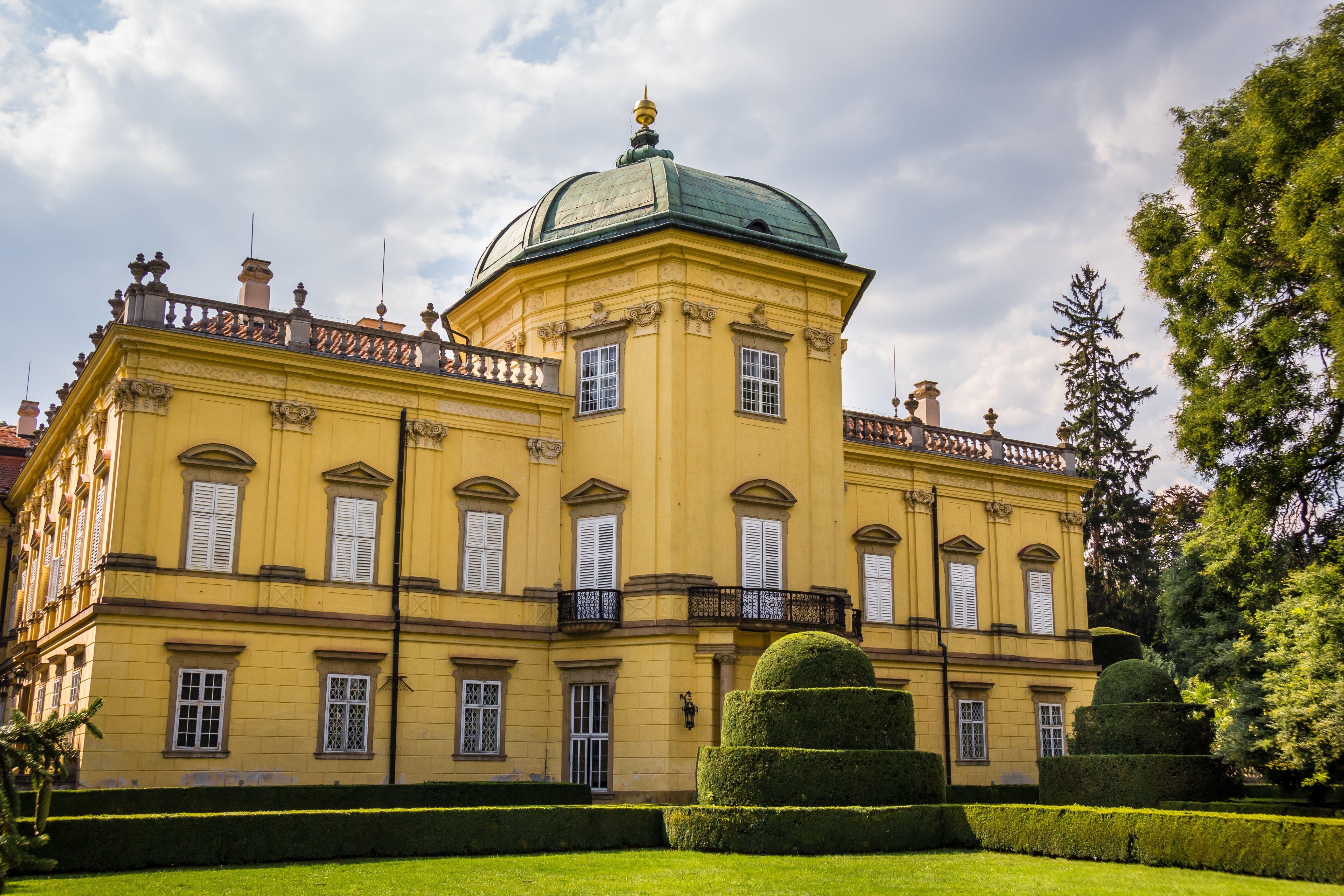 architectural, chateau, historic