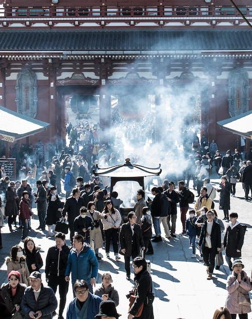 Бесплатное стоковое фото с sosenji, асакуса, асакуса япония, токио