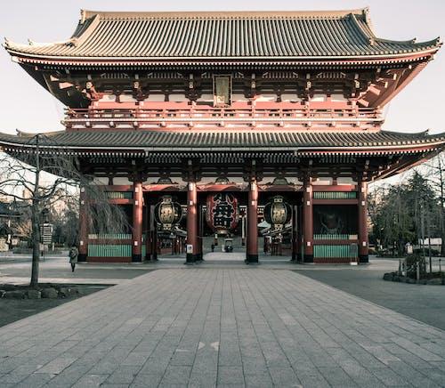 Free stock photo of senso temple