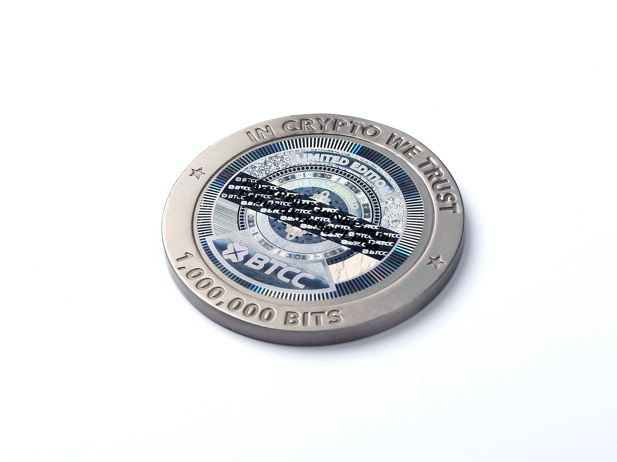 Free stock photo of coin, bitcoin, collectable, titanium
