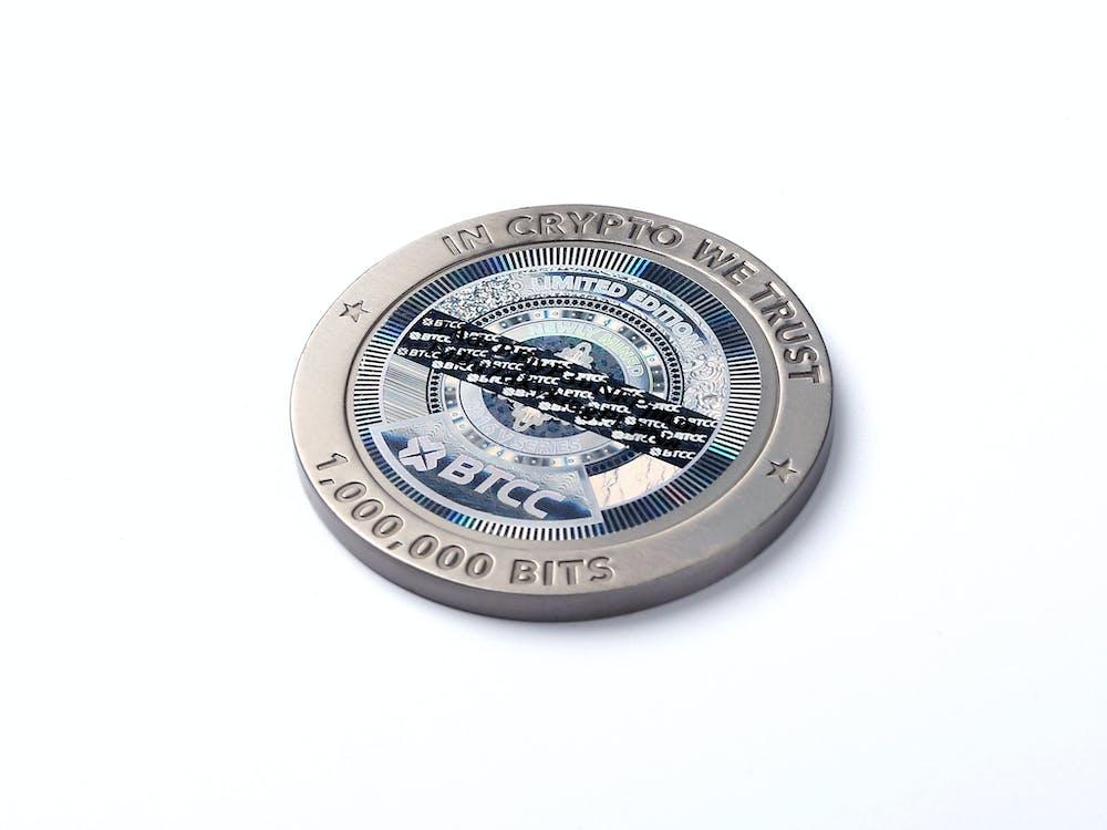 Безкоштовне стокове фото на тему «Bitcoin, біткойн, колекційно»