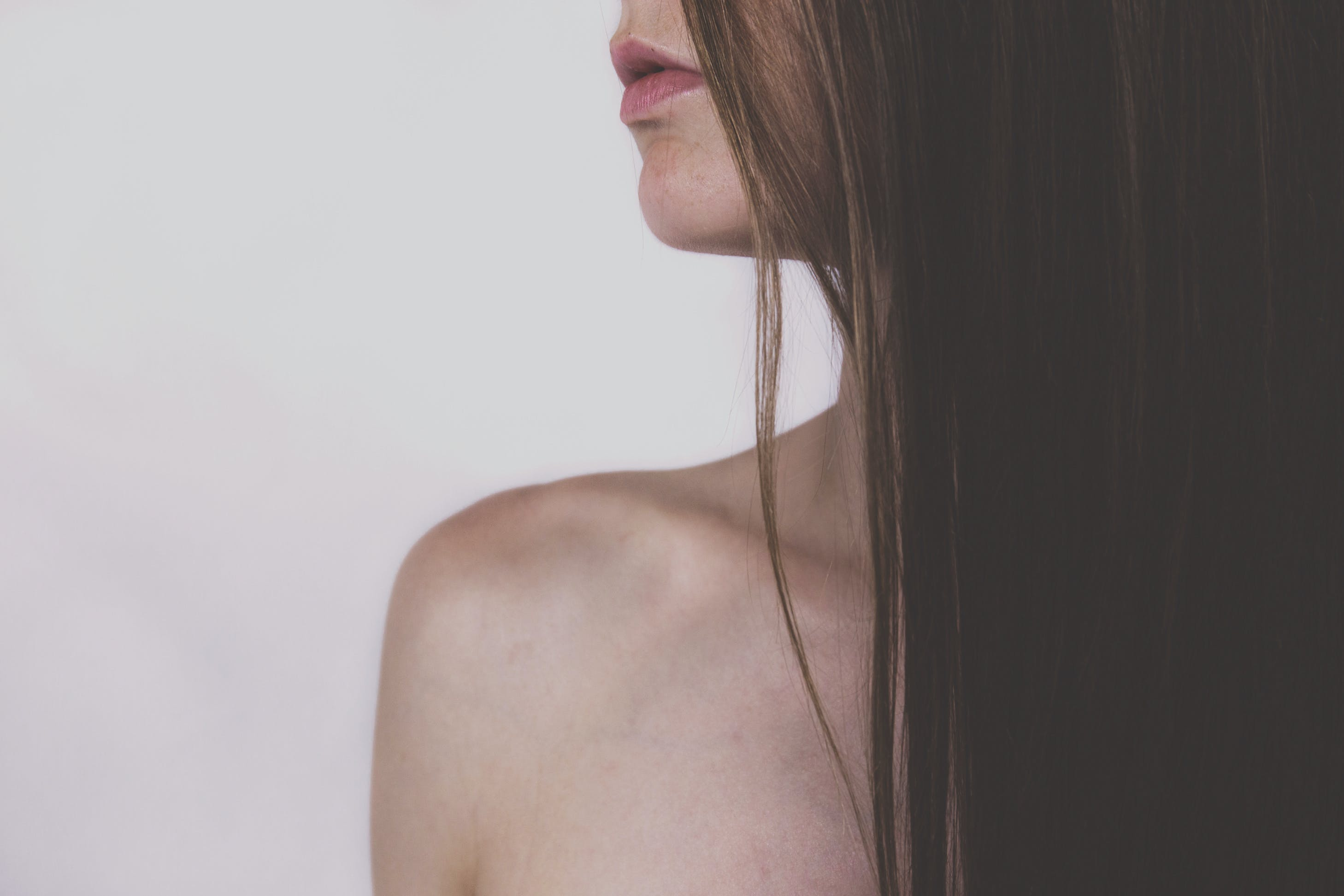 Kostenloses Stock Foto zu frau, haar, lippen, model