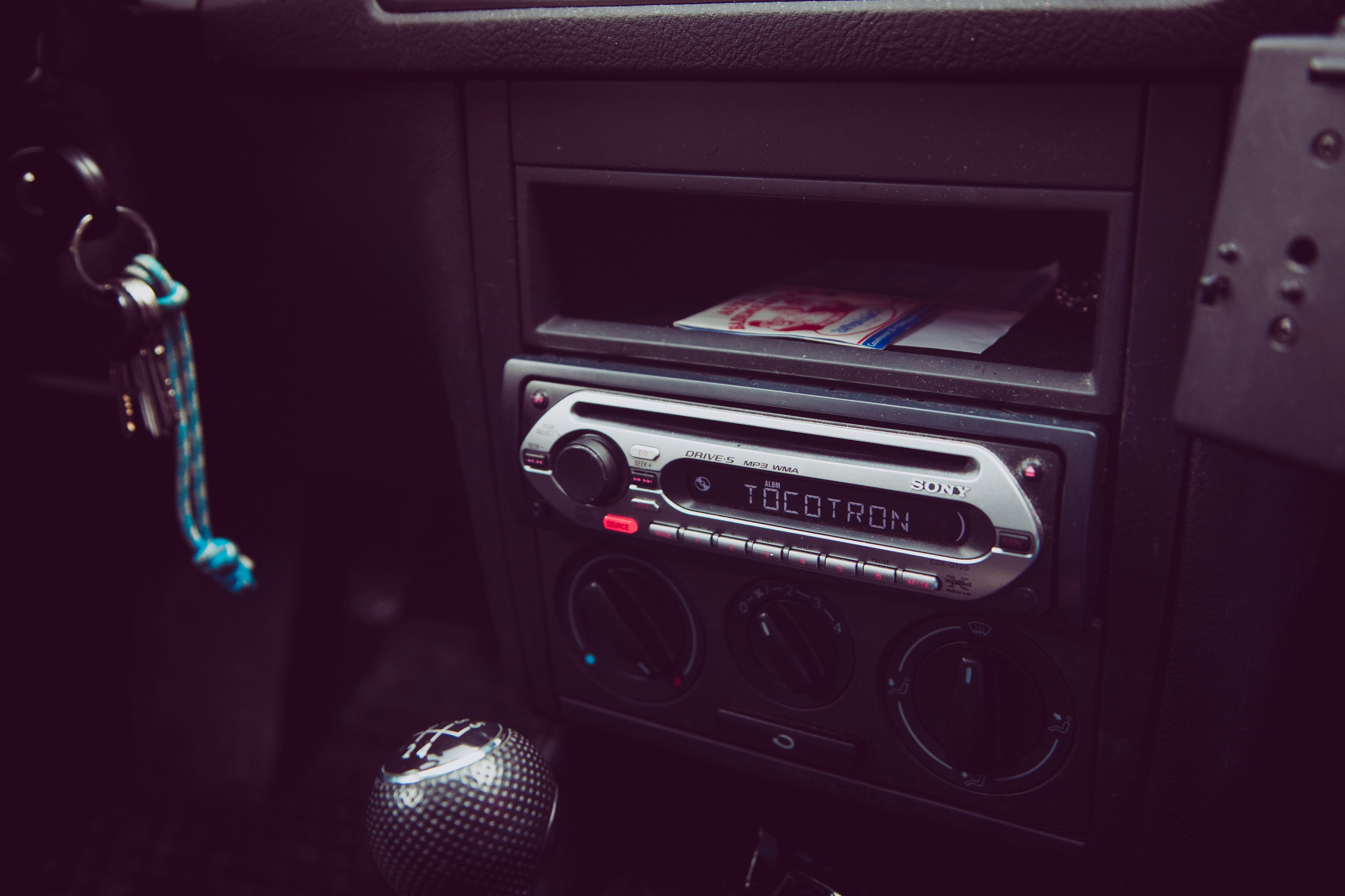 Free stock photo of car, cd, loudness, music