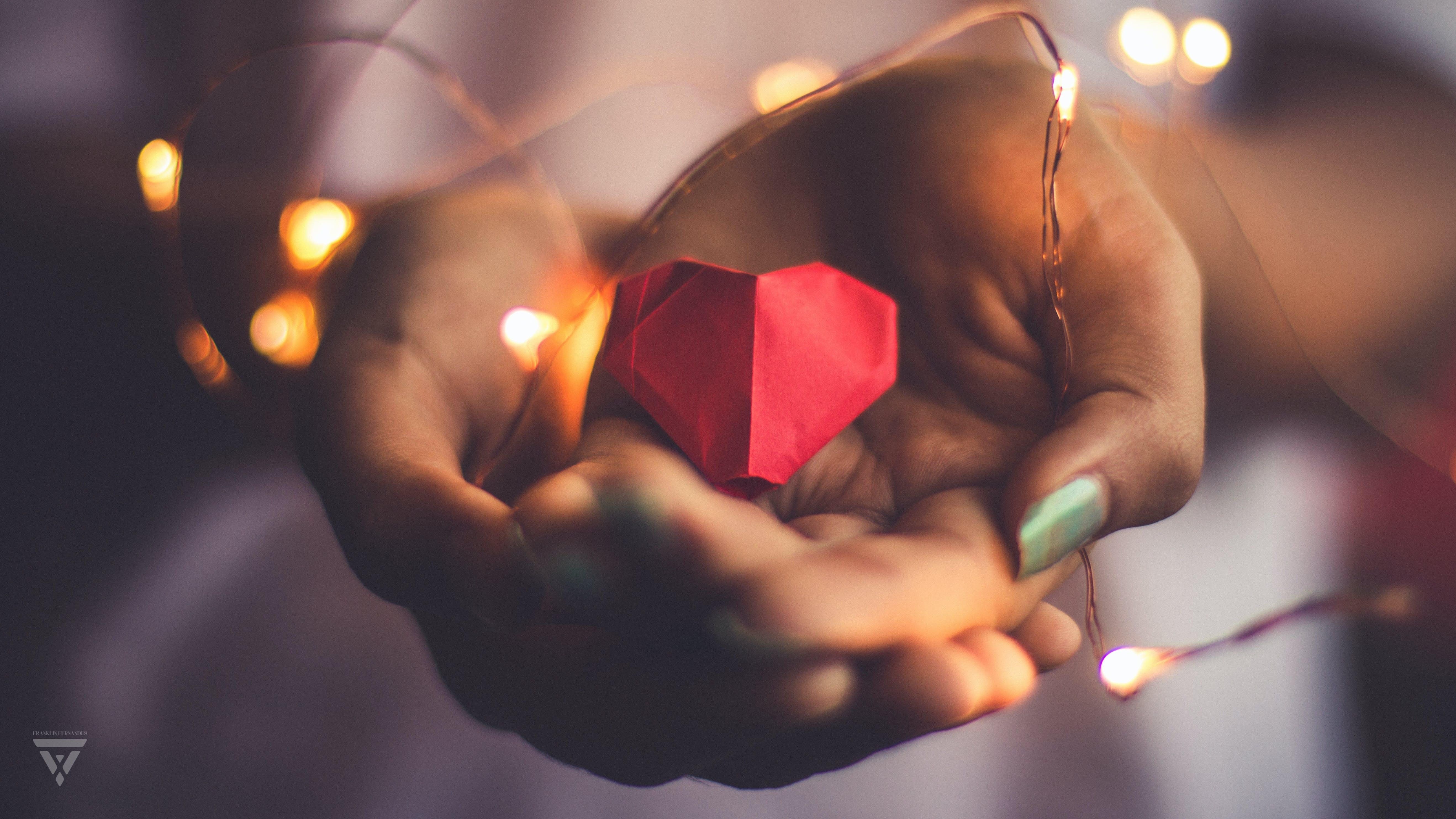 Free stock photo of canon, heart, landscape, origami