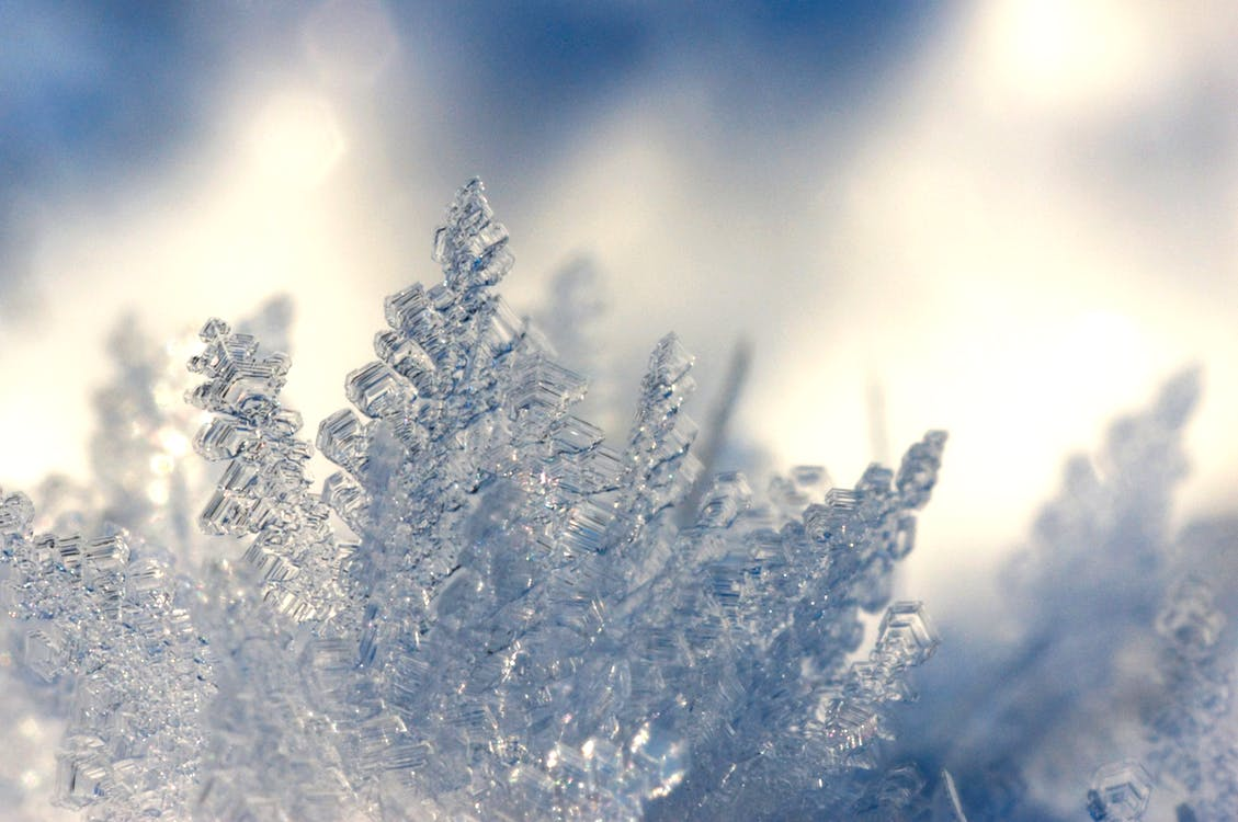 buz, buz gibi hava, buz kristalleri