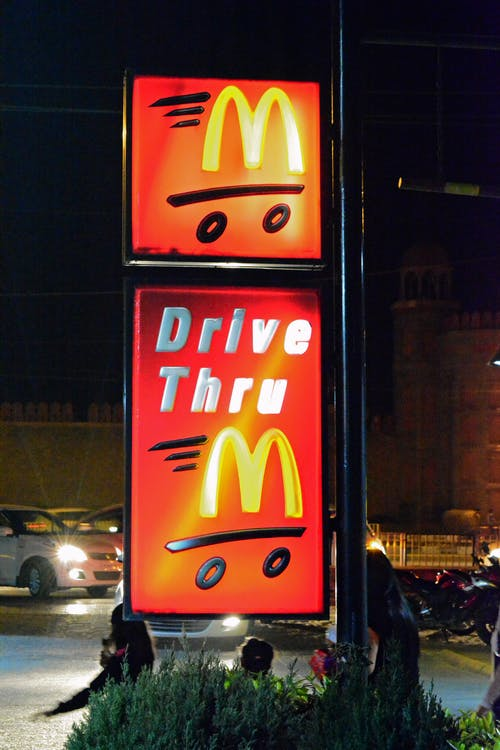 #drivethru #mc d. 的 免費圖庫相片