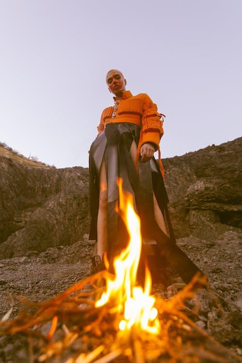 Foto profissional grátis de afetuosamente, ameaça, ardente, calor