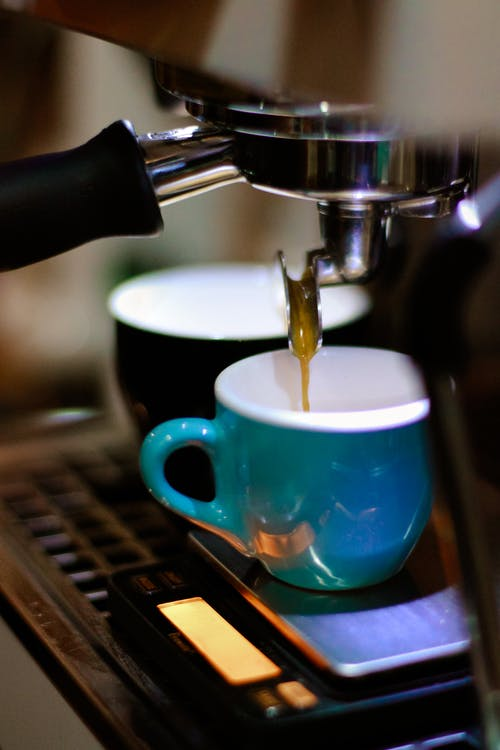 Espresso Maker Filling Cups
