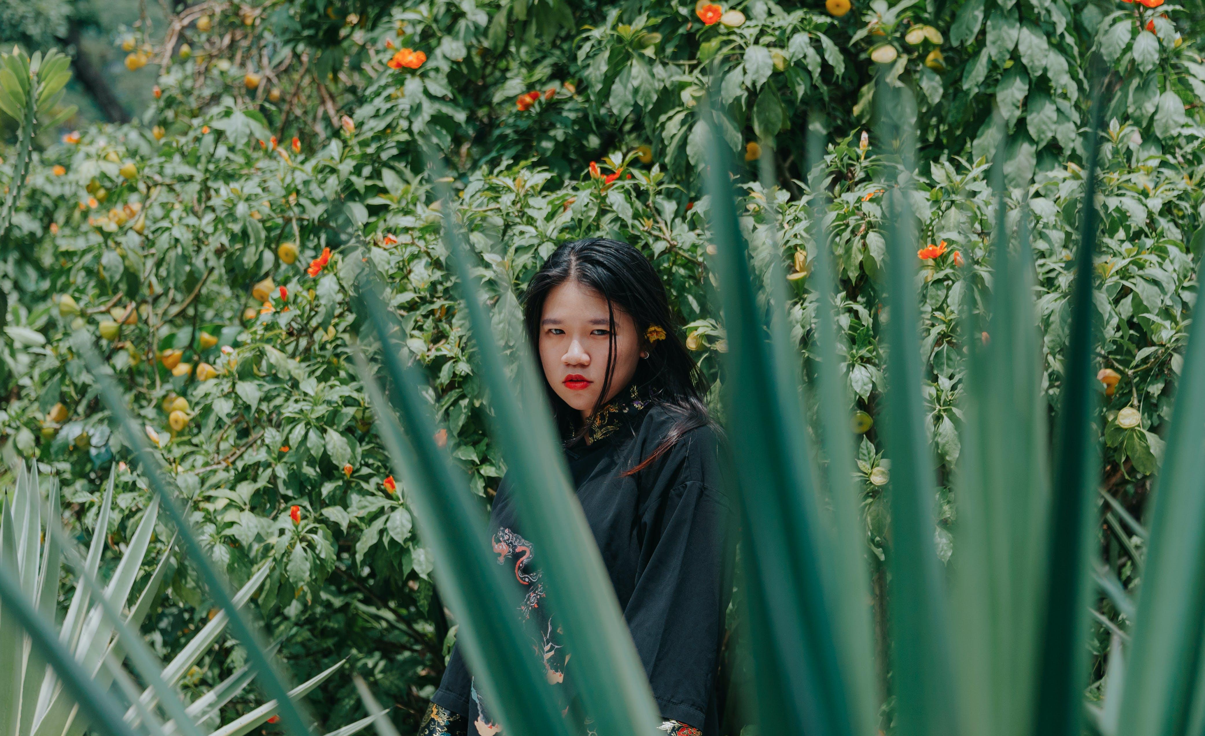 Shallow Focus Photography of Asian Woman