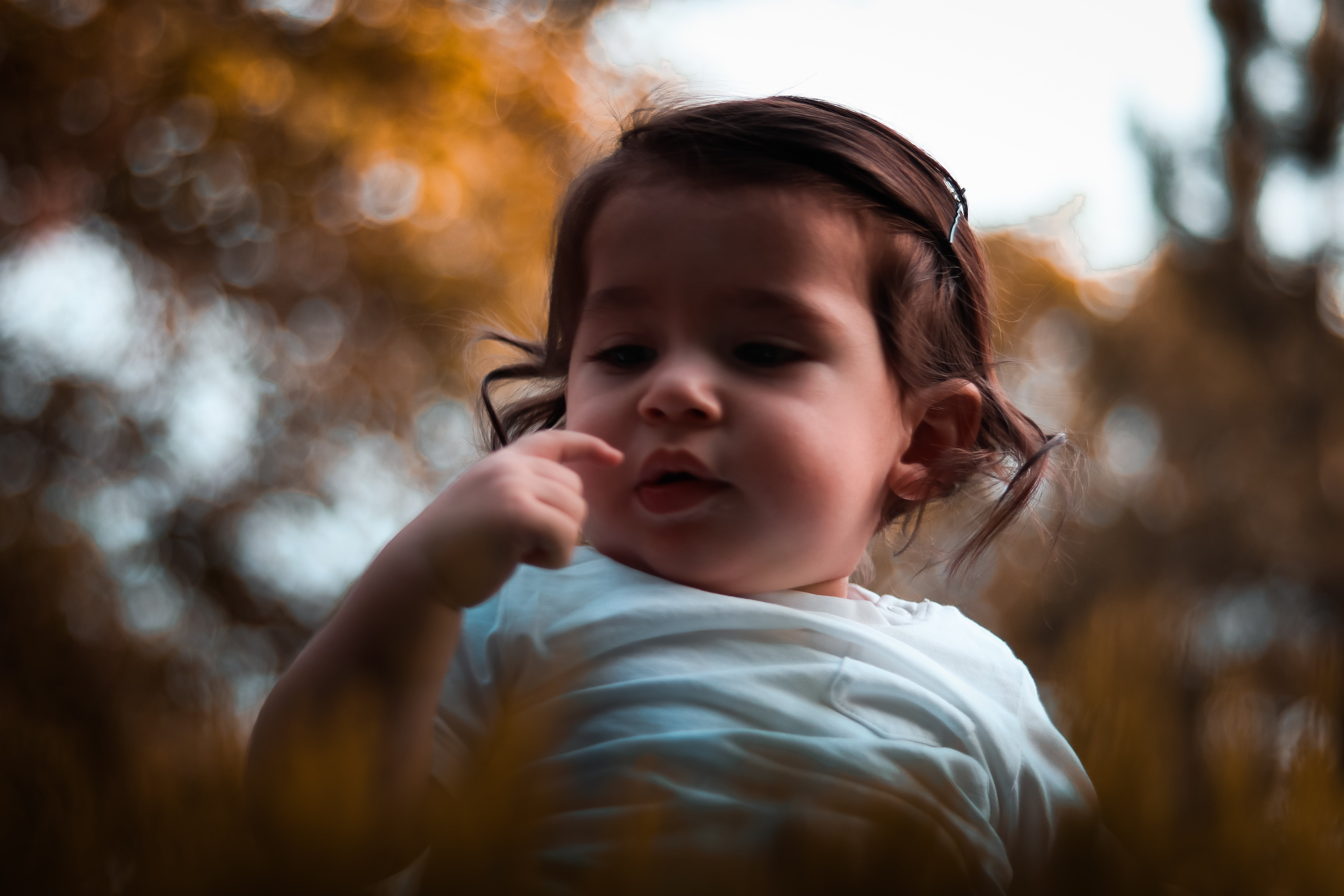 Selective Focus Photography of a Toddler