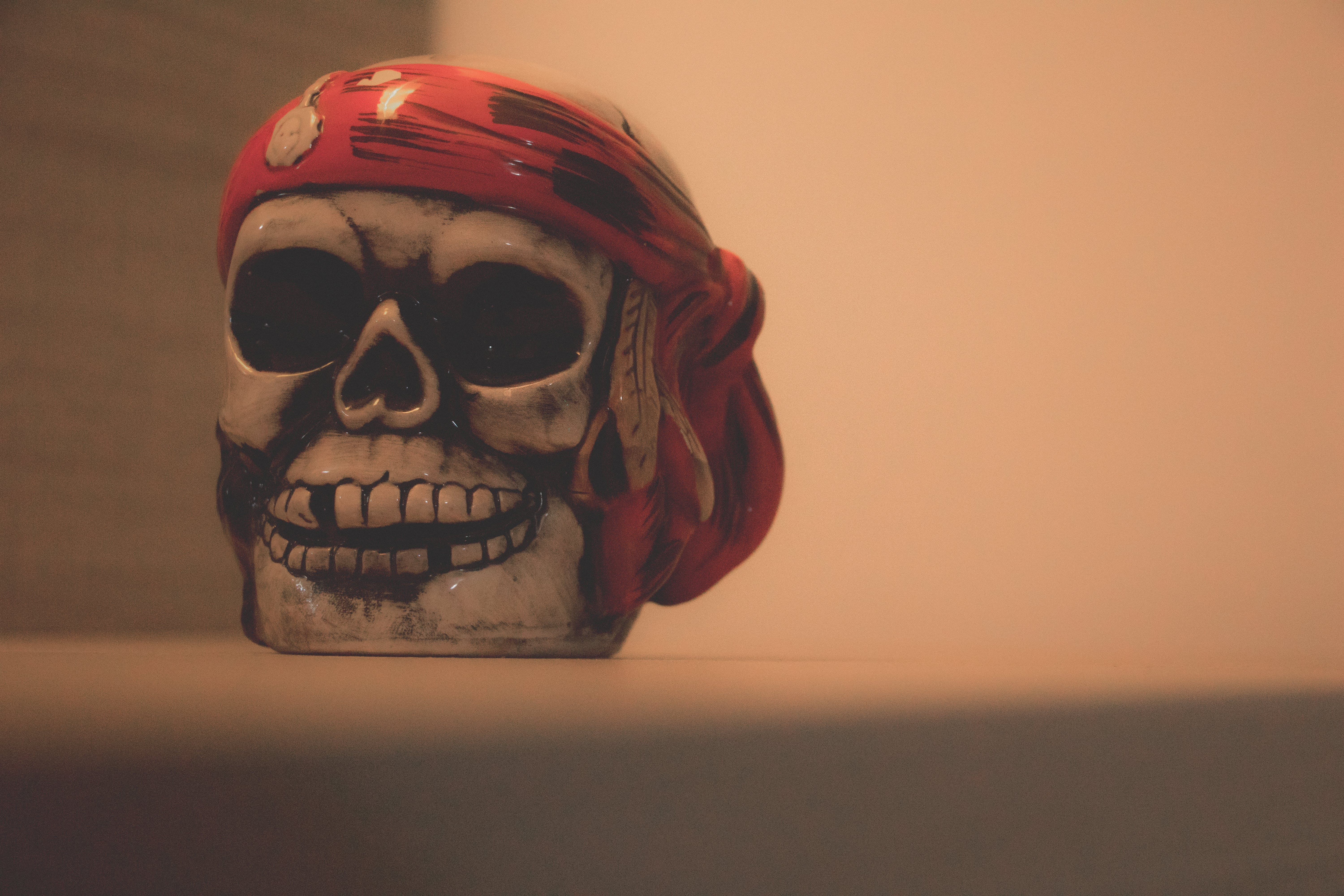 Free stock photo of brown, cup, pirates, red