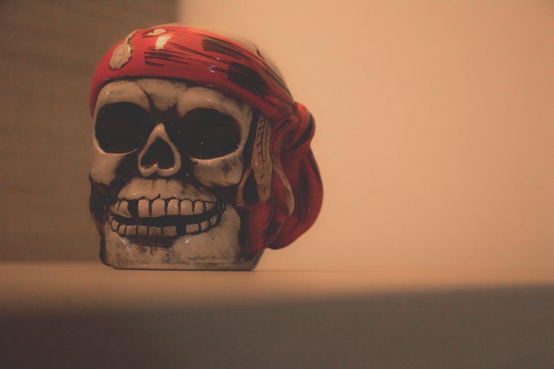 cốc, hải tặc, màu đỏ